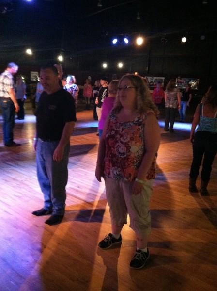 John and Mary Lou on the dance floor