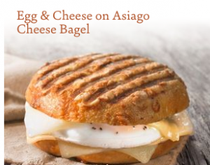 Egg & cheese bagel