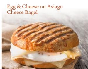 Egg & cheese bagel