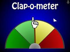Clap-o-meter
