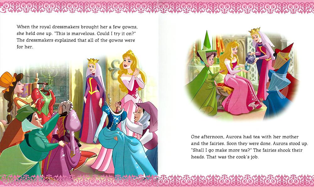 princess tiara time readalong scans disney princesses