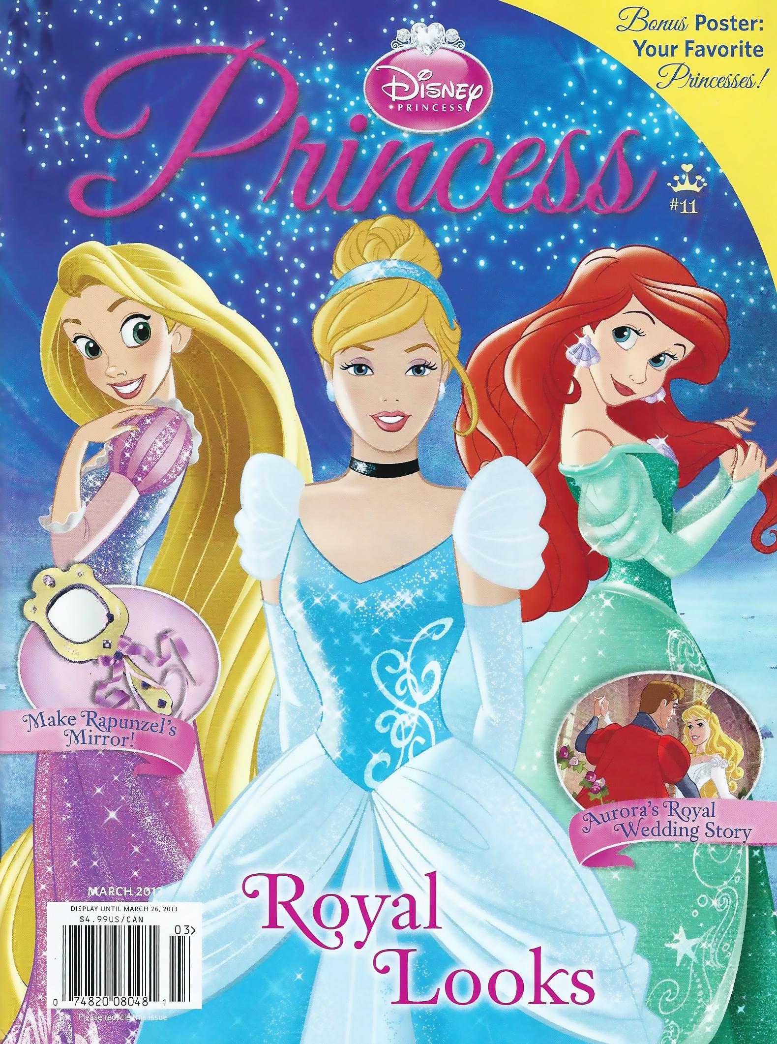 Disney Princess Magazine March 2013 Scans  D Princesses