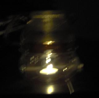 Tea Warmer in the Dark.