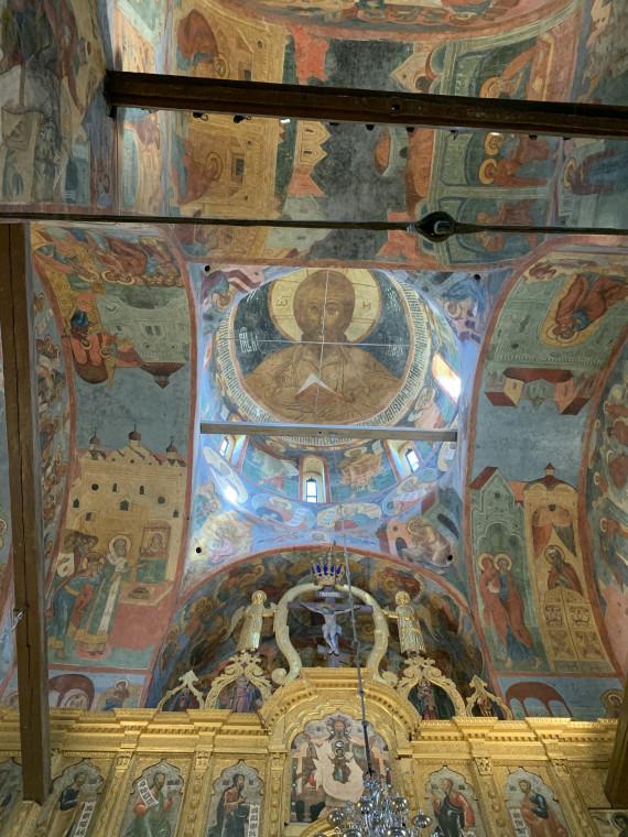 Фрески Успенского собора Кирилло-Белозерского монастыря