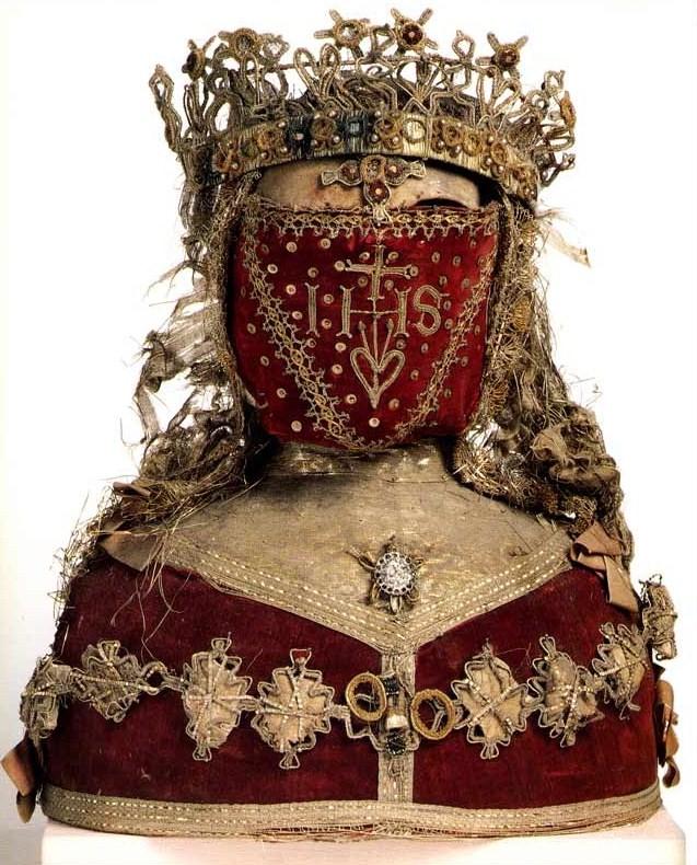 Reliquary Bust, Museum M, Leuven, Belgium