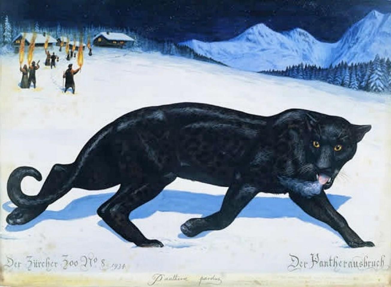 Walton Ford - Der Pantherausbruch