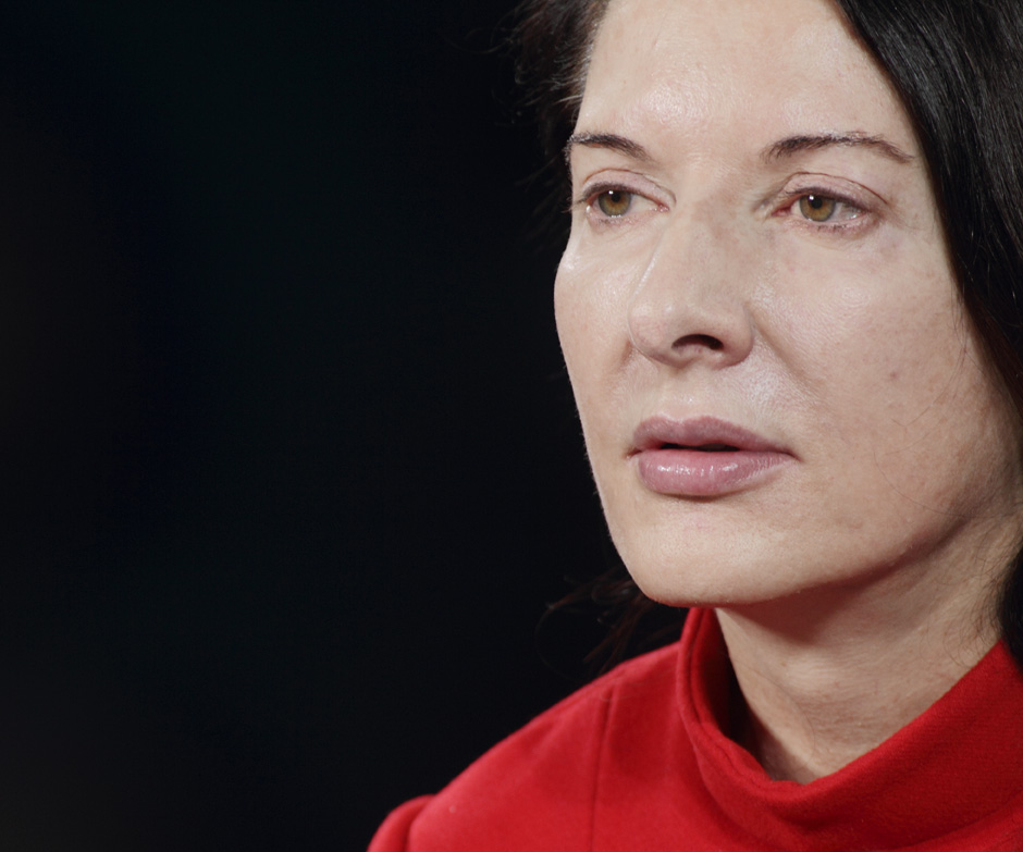 Marina Abramović - The Artist is Present, Day 1 - by Marco Anelli
