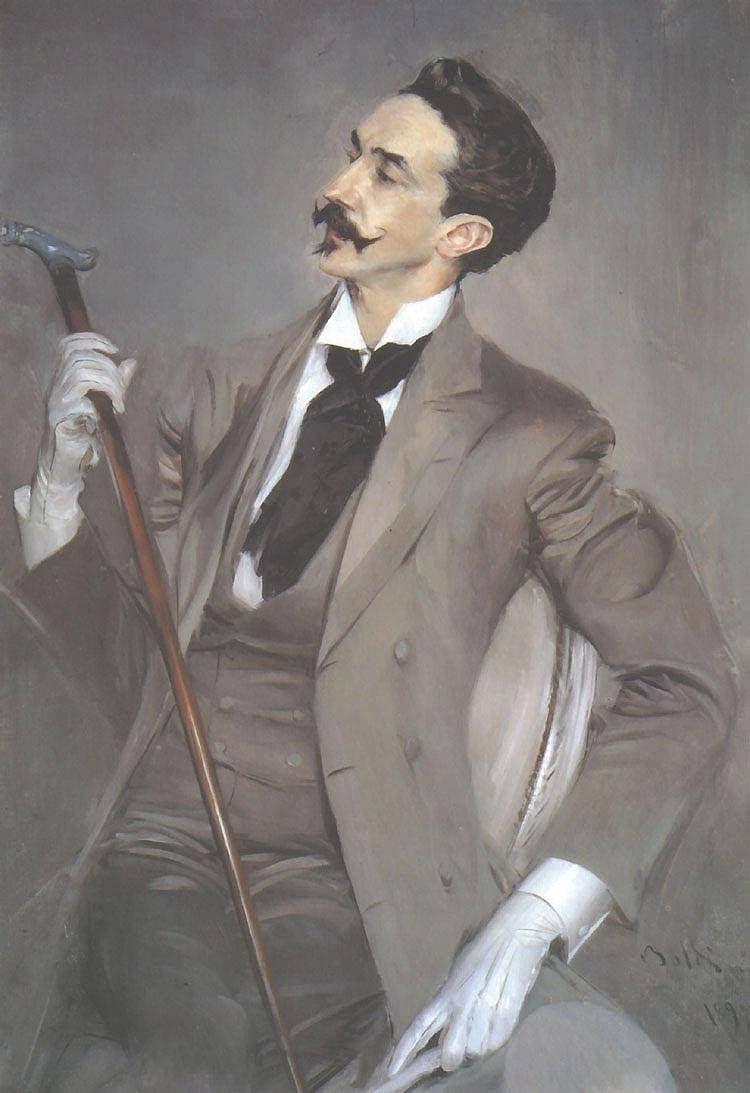 Giovanni Boldini - Robert de Montesquiou 1897
