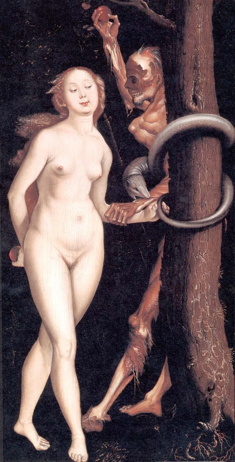 Hans Baldung, gen. Grien - Eva, die Schlange & der Tod, ca. 1510 - 1515