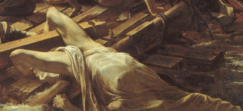 Thédore Géricault - Le Radeau de la Méduse (Detail)