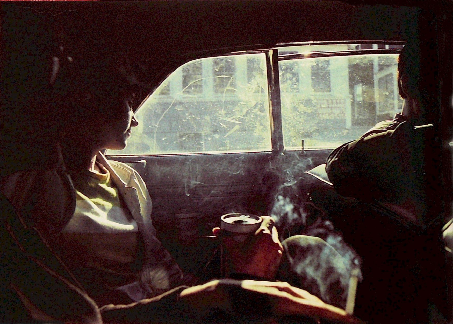 Nan Goldin - Smoky Car, New Hampshire 1979