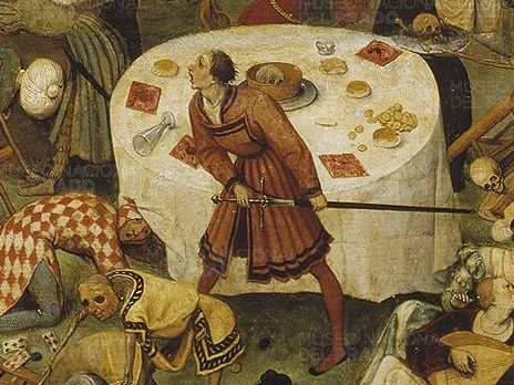 Brueghel - The Triumph of Death, Detail