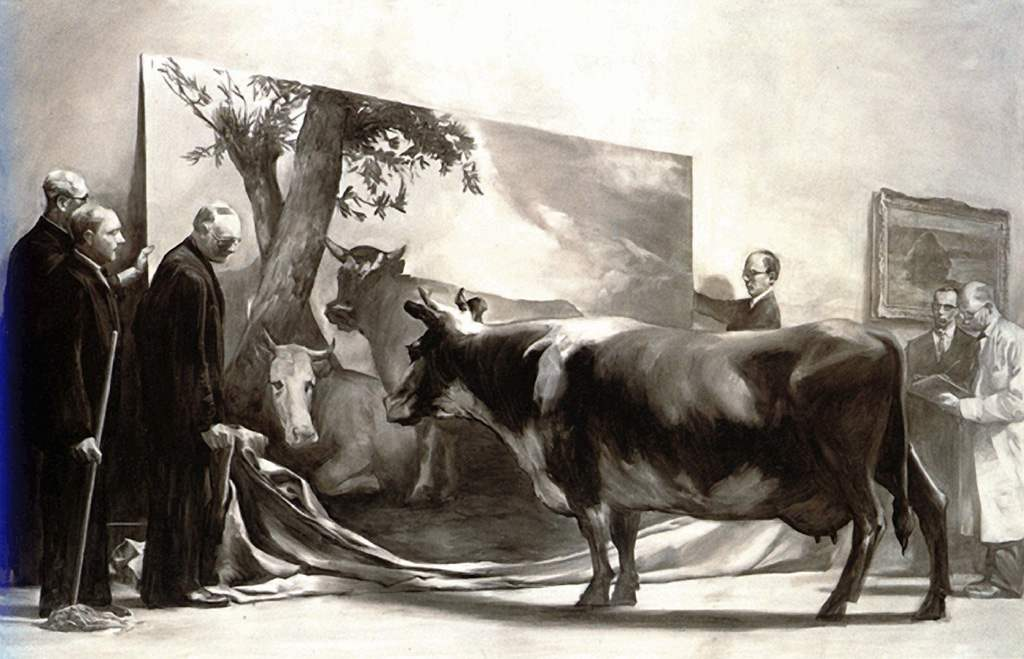 Mark Tansey - The Innocent Eye Test