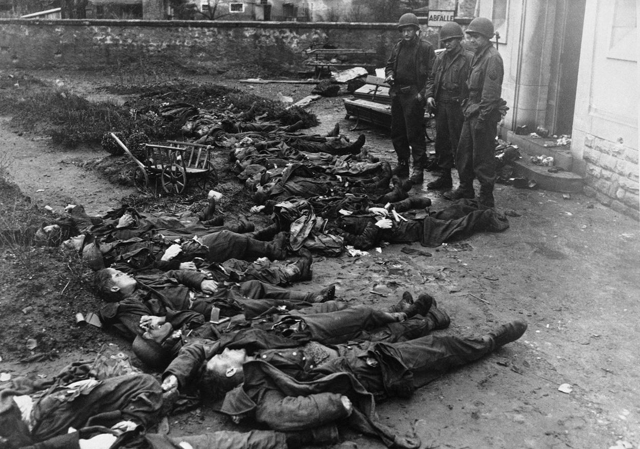 Echternach, Feb 21, 1945
