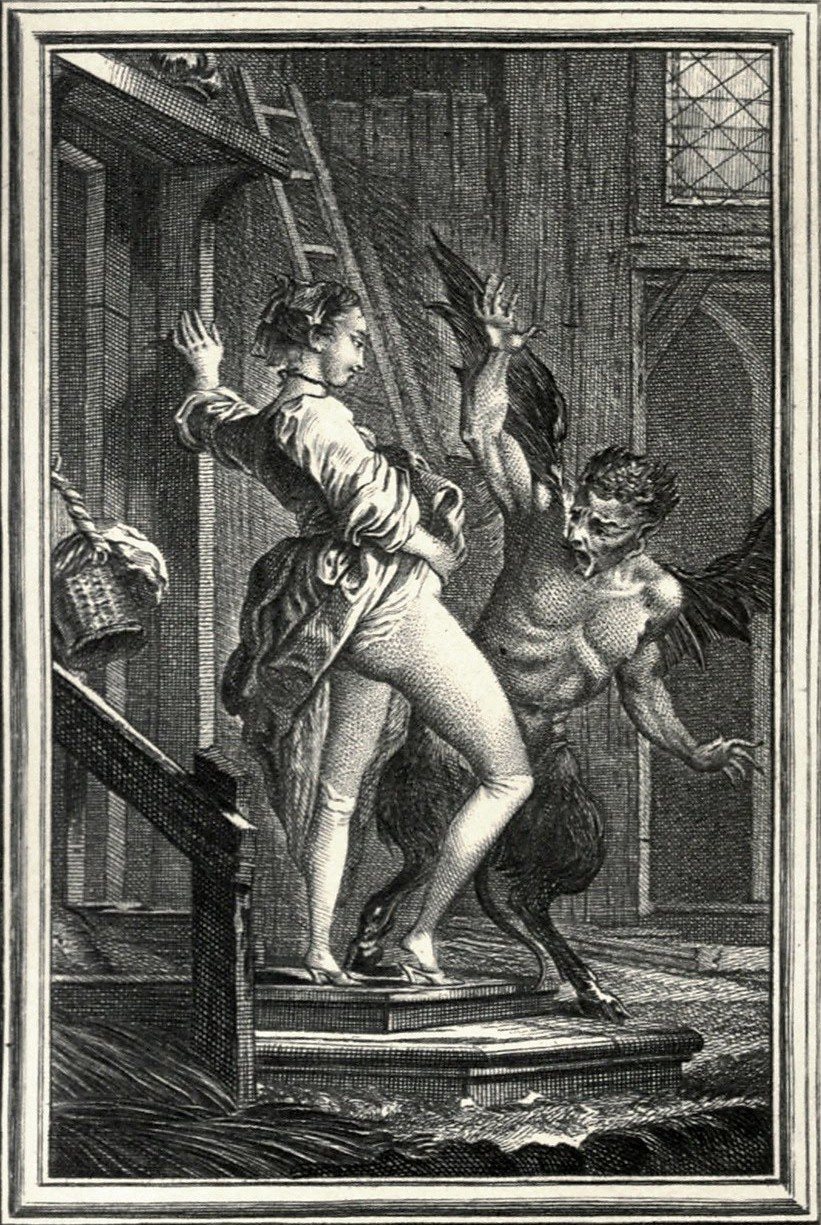 Charles Eisen - The Horrified Devil