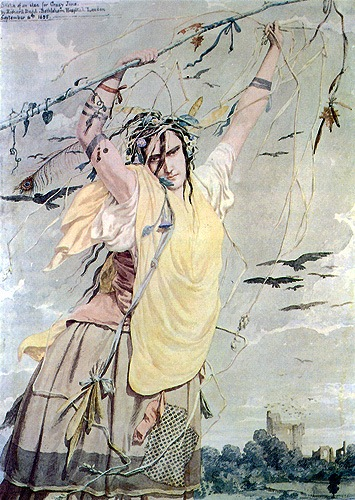 Richard Dadd - Crazy Jane