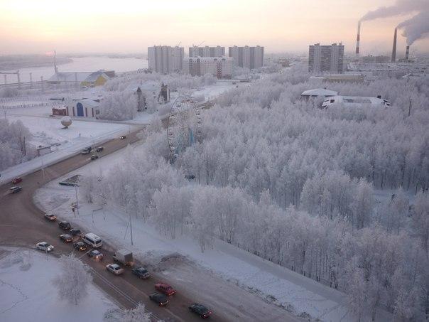 В Нижневартовске уже зима