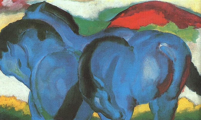 Franz_Marc-_Die_kleinen_blauen_Pferde