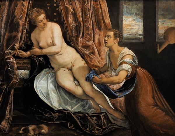 Danae,Tintoretto