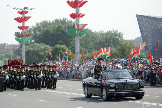 Парад войск Минского гарнизона. 3 июля 2016 года