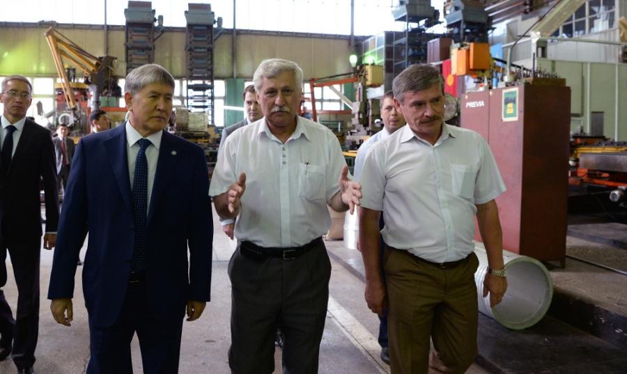"""Завод """"Дастан"""" по производству торпедного оружия в Киргизии - современное состояние"""