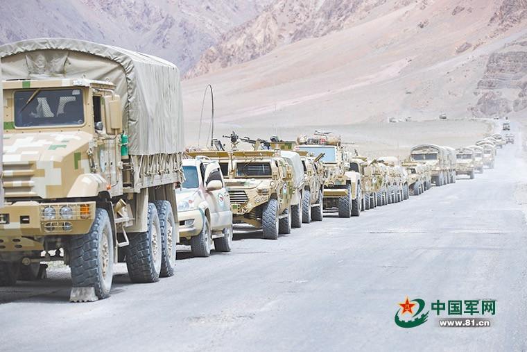 Подразделения НОАК берут под контроль таджикско-афганскую границу в Горном Бадахшане