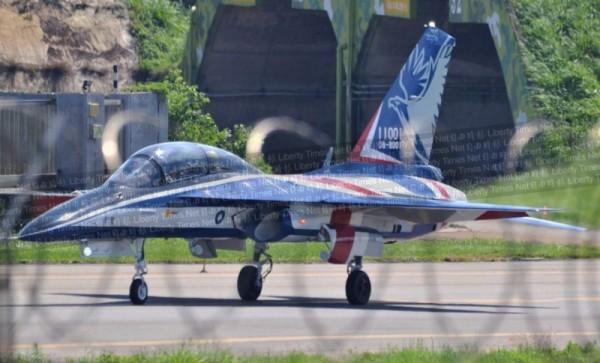 Первый опытный образец УБС для ВВС Тайваня начал подготовку к летным испытаниям