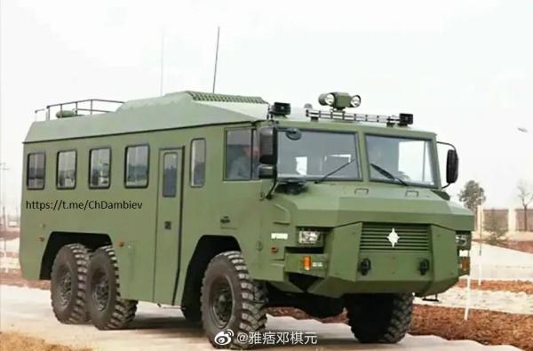 Новая китайская патрульная машина для пограничных войск