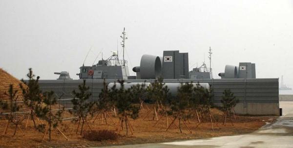 Десантные катера на воздушной подушке проекта 12061 «Мурена-Э» ВМС Южной Кореи