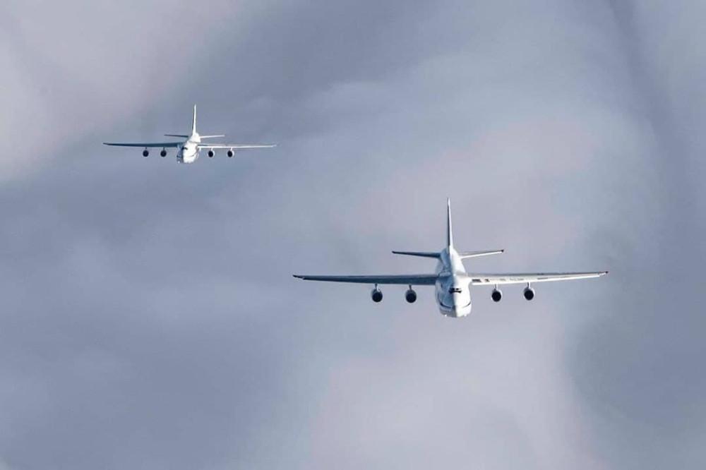 ВКС России отработали одновременный взлёт шести военно-транспортных самолётов