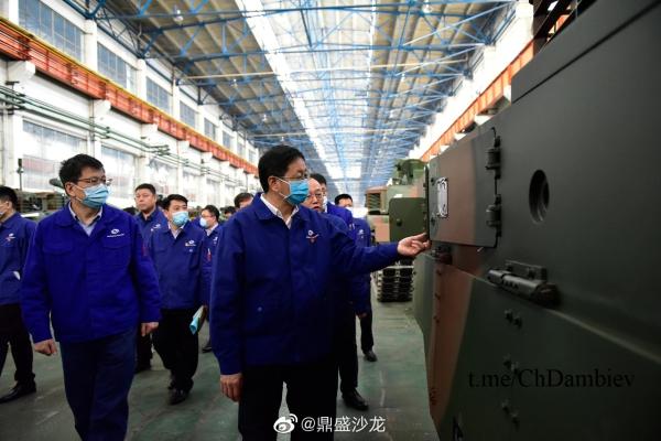 Очередная партия китайских танков VT4 для Пакистана