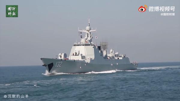 В состав Восточного флота ВМС НОАК вошел новый эсминец проекта 052D