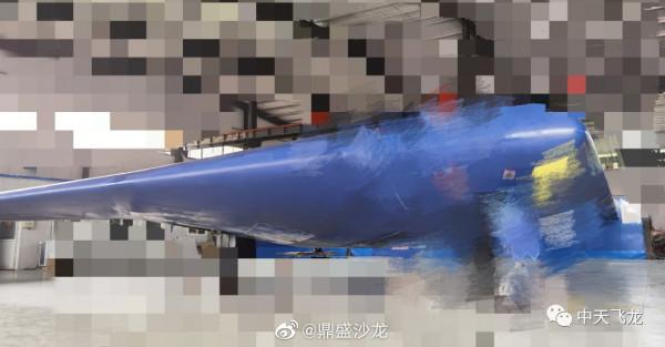 Новый китайский беспилотный стелс-бомбардировщик 飞龙-2 / Feilong-2