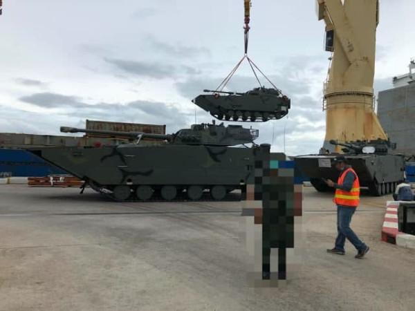 Таиланд получил первую партию китайских плавающих танков VN16