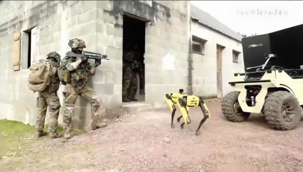 Испытания боевых робототехнических комплексов для нужд французской армии