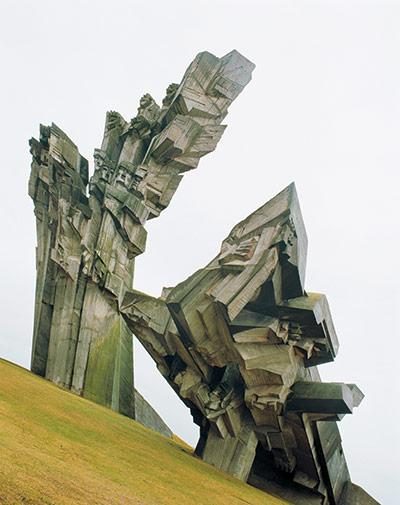 Памятник в Каунасе