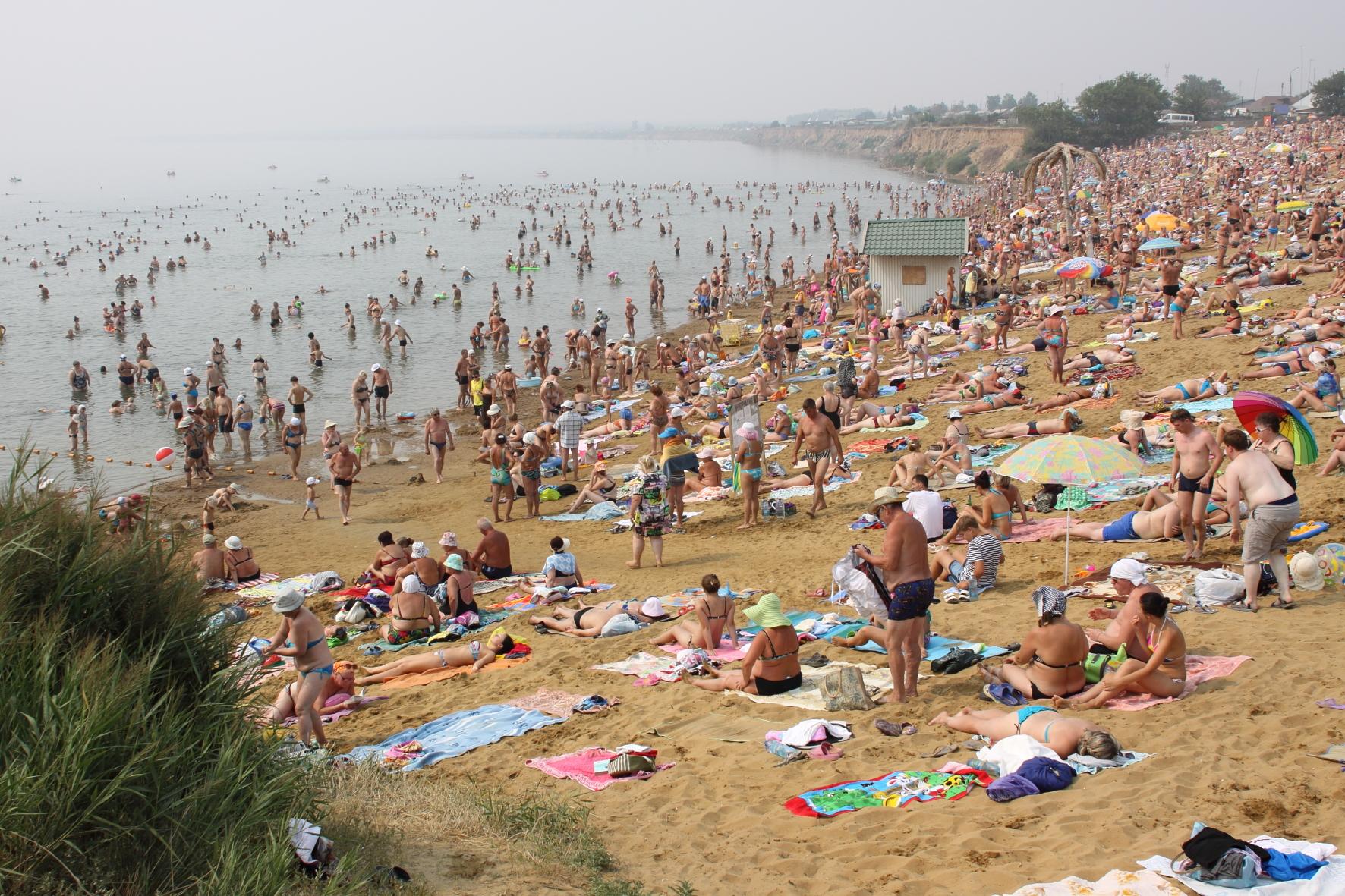 Пляж 42-го причала г. Яровое