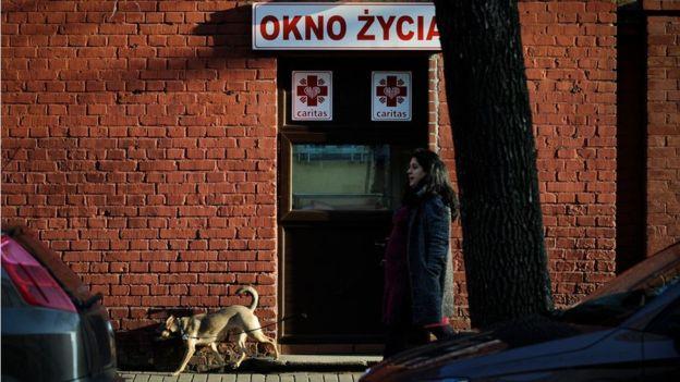 """Окно жизни"" в Варшаве."
