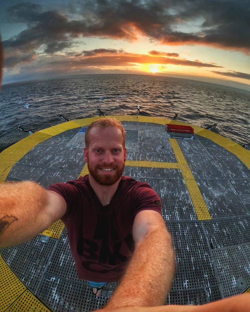 Фото со страницы Скотта в инстаграм @keeping_a_lighthouse