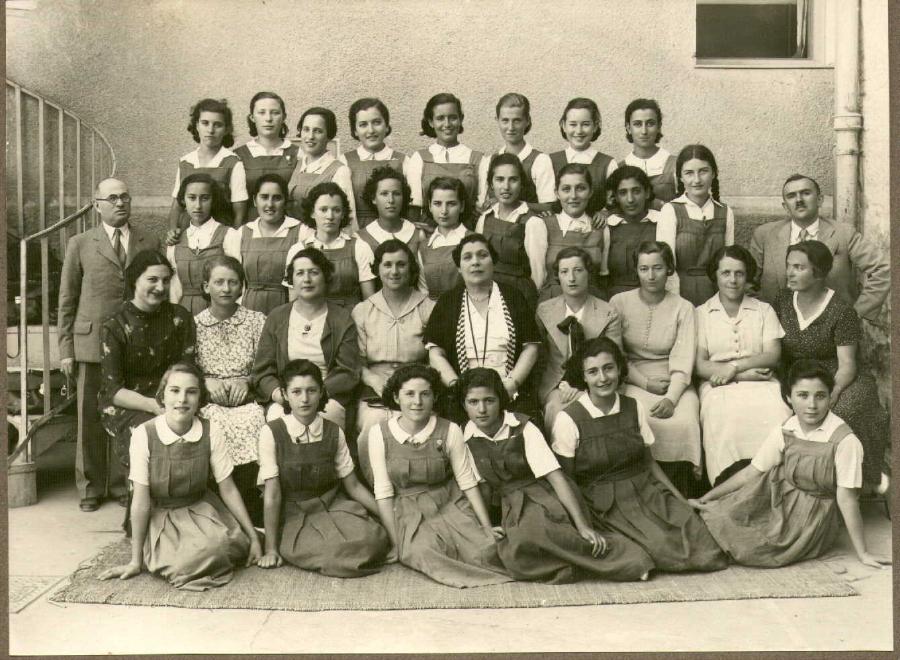 Епархиальное женское училище открыто в 1863 г как училище девиц духовного зв