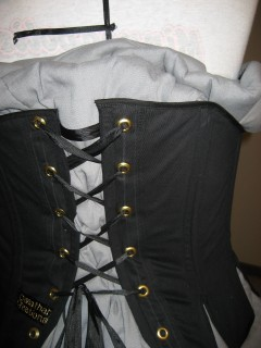 back lacing detail