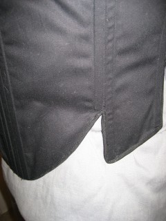 bottom binding detail
