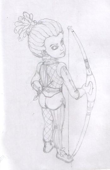 маленькая-лучница