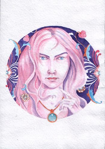 голубой-камень