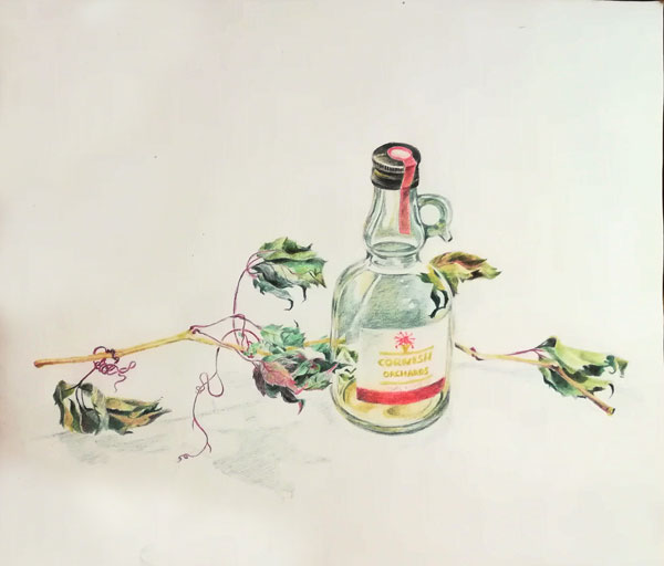 бутылка_виноград
