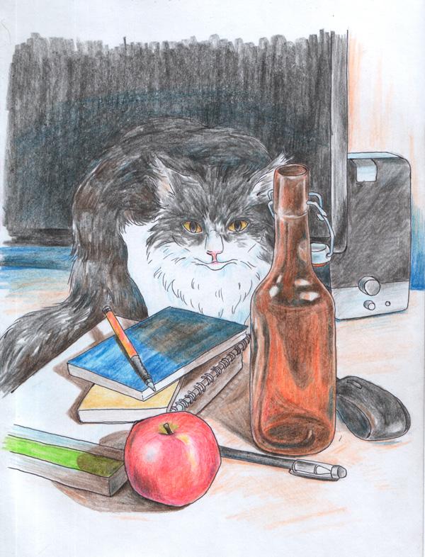 Натюрморт_с_котом