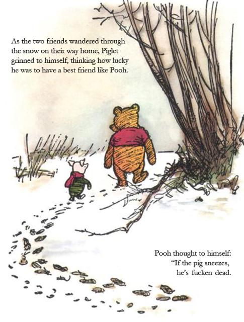 Winnie, Piglet, and Swine Flu