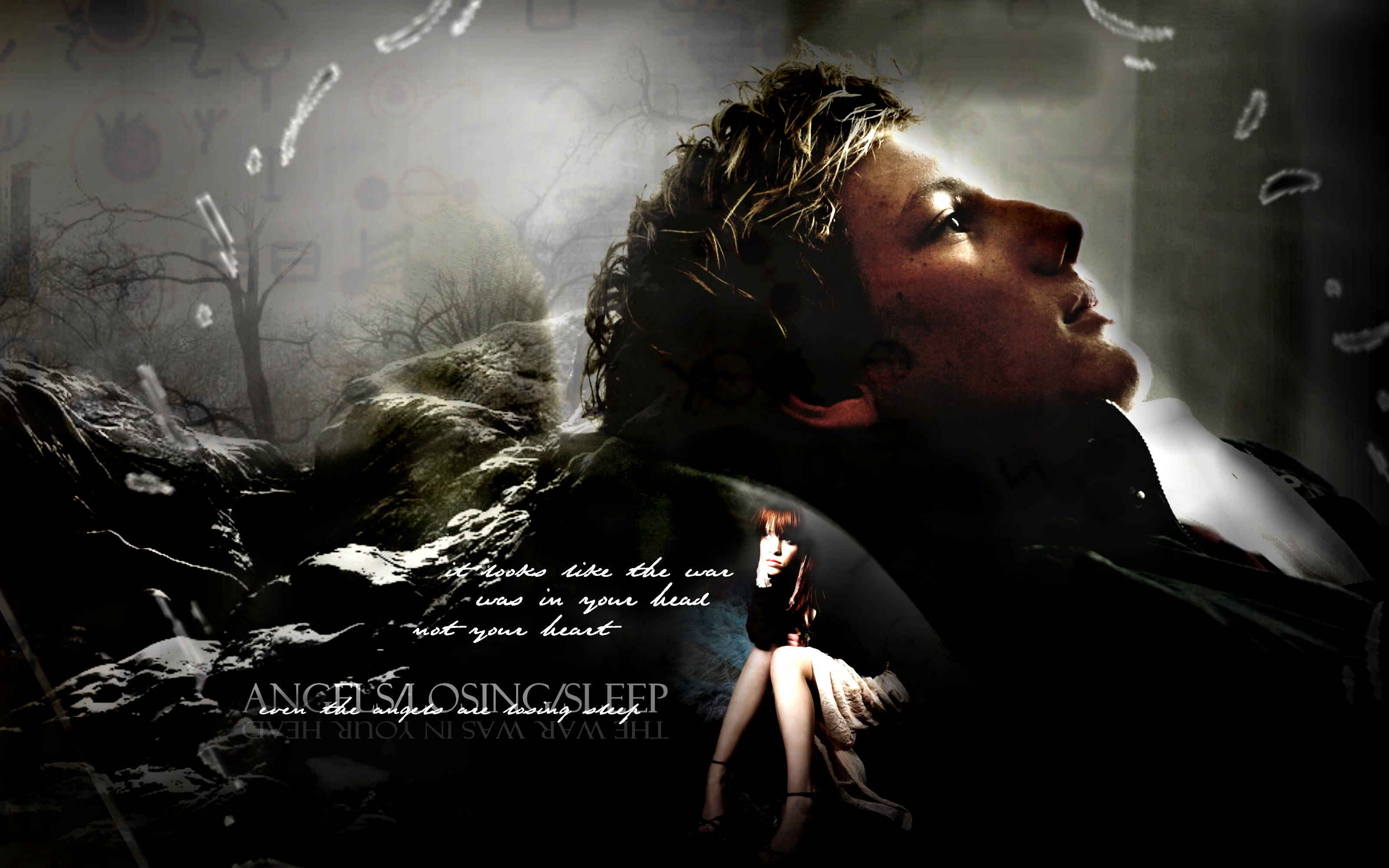 "wallpaper: mortal instruments ""angels/losing/sleep"": pandemoniumclub"