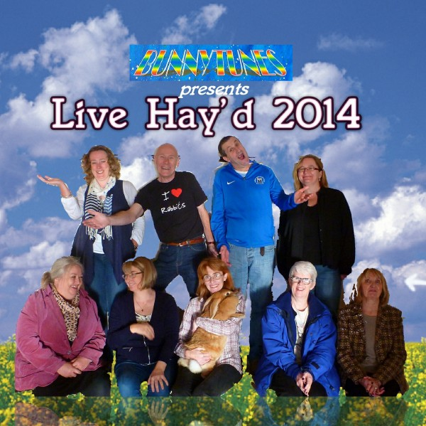 Live Hay'd 2014 disc label graphic 0512-2L