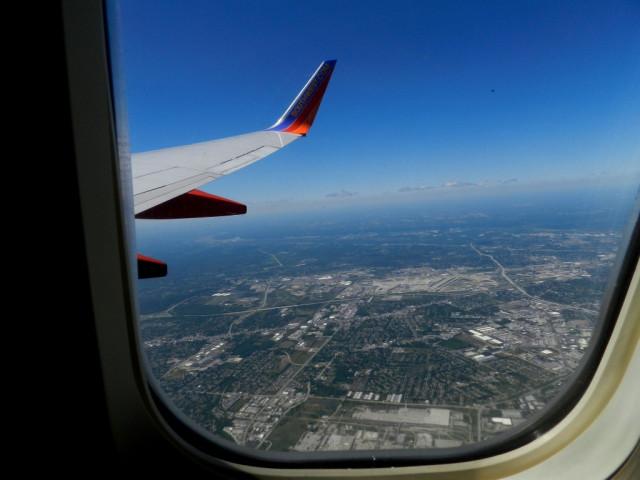 Фото из самолета